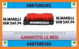 IAW 5AF P4 ECU magneti marelli CENTRALINA MOTORE - NO RESO DELLA CARCASSA