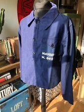 More details for rare vintage denim alcatraz prison uniform dated 1974 one size fits size m/ l