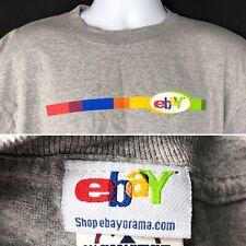 Ebay Old Logo Shop Ebayorama L T-Shirt Large Mens Gray Ebayana Reseller 2000s