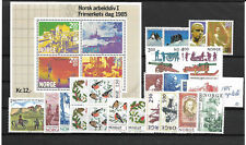 NORWAY @ YEAR 1987  COMPLETE  MNH NICE PRICED @ WV 3098