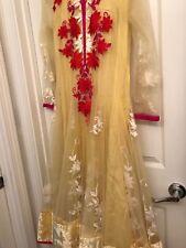 Designer Bollywood Embroidered Salwar/Shalwar Kameez Party Wear 3 Piece Set XL