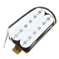 1 Pcs White Humbucker Double Coil Pickup For Electric Guitar Parts