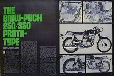 BMW-Puch 250 350 Proto-Type Motorcycle Article 1971