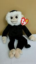 Ty Beanie Baby Mooch the Monkey w/Tag Errors Spelling Gasport , *Retired & New