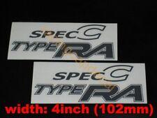 """4"""" 102mm spec C  type ra Decal Sticker for wrx impreza sti gdb gda a b c d f wrc"""