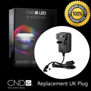 CND BRISA Nail Lamp Replacement Lead UK Plug AC Adaptor Wire Cord LED Light.