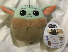 "New Squishmallow Disney Star Wars Plush 5"" Mini Baby Yoda The Child"