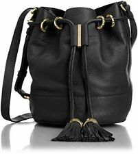 See by Chloe Vicky Small Bucket Bag w/Crossbody Strap, Black