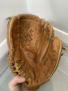 "Rawlings Youth Leather Baseball Glove 10.5"" - Signature Ken Griffey Jr"
