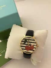 Kate Spade cherry metro watch Gold/Black Brand New In Box