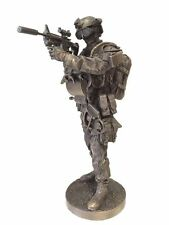 Navy Seal Armed Forces Statue Black Ops Call of Duty  - New in Box