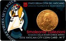 Vaticano 50 cent 2016  coincard 7