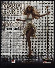 2006 Mariah Carey - The Adventures Of Mimi Concert Tour Vintage Advertisement