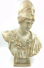 Athena Pallas Minerva Greek Roman Goddess Bust with Helmet Statue 20H