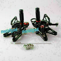 Motorcycle Adjustable Footpegs Rearsets Pedal for BMW S1000RR 2009 2010 2011-14