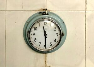 Ancient Vintage Citizen Wall Clock Light Blue Analog Premium Home/Office Lot 2