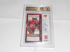 2013 ContendersTB Rookie RB Mike James Autograph BGS 9.5