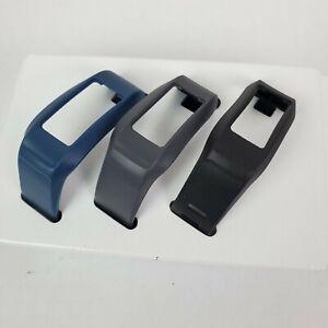 Garmin VivoFit 2 Bands Sz. Medium x3 Blue Gray Black Fitness Band Replacement