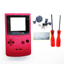 Hot Pink Replacement Full Housing Shell for Nintendo Game boy Color GBC OEM