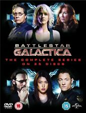 Battlestar Galactica The Complete Series Season 1 2 3 4 Region 4 DVD (25 Discs)