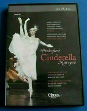 CINDERELLA Prokofiev DVD Rudolf NUREYEV (Choreographer) Paris Opera Ballet