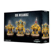 Warhammer 40,000 - Ork Meganobz - Brand New - Free Shipping