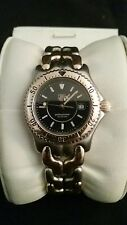 Used 1998 tag huer model wg 1327 womans watch