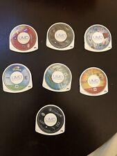 psp video game lot Disney/Pixar