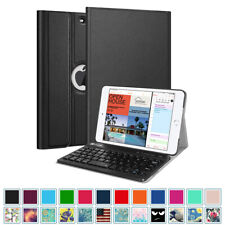 For iPad Mini 5th Generation 2019 Slim Case Cover Stand with Bluetooth Keyboard