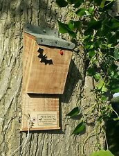 BAT BOX, Appollaiarsi Nido Box/House, QUALITY Handmade Batbox con tetto di feltro ^●^
