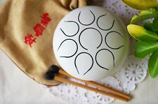 Wuyou Mini Tongue Drum Tank Drum Hand Pan Drum Chakra Drum Healing meditation