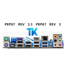 NEW IO I/O SHIELD back plate BLENDE BRACKET for ASUS P8P67 REV 3.1 P8P67 REV 3.0