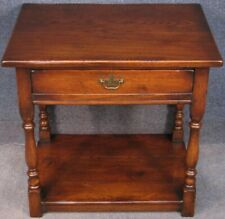 Period Style Solid Oak Single Drawer Side Table