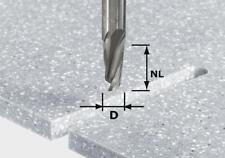 Festool spiralnut Fresa Hw GAMBO 12 mm Hw Spi d12/42 RD SS s12 | 492655