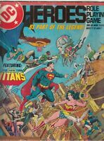 DC Heroes - The Roles Playing Game 1985 + Titans Challenge.