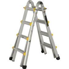 Youngman Combination Transforma Ladder Telescopic Stepladder 4 Mode System