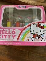 Hello Kitty Pez Collection 4 Dispensers, Metal Lunch box