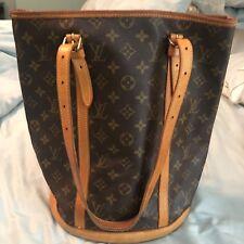 100% Authentic Louis Vuitton Large Bucket