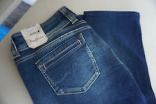 PEPE JEANS GEN Slim Fit Hüft Stretch Hose W27 L34 Stonewashed used blue NEU c14
