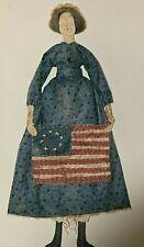 Primitive BETSY ROSS Doll Pattern by Sunnyknoll Folk Art & Crafts #183 NIP