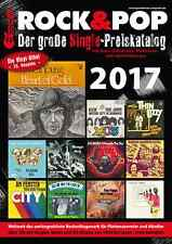 Rock & Pop Single Preiskatalog 2017 neu ovp kein Porto + DVD mit 40.000 Coverabb