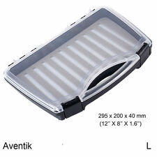Aventik Maxium Waterproof  Fly Suitcase ABS trapezoidal Fly Box 12X 8X1.6 inch