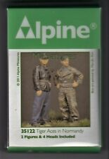 ALPINE MINIATURES 35122 - TIGER ACES IN NORMANDY - 1/35 RESIN KIT