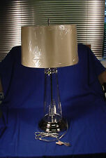 """Waterford 31"""" L & S ASTRUM Crystal Table Lamp NEW!"""
