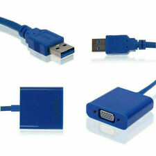 USB 3.0 to RGB VGA Female Video Graphic Card Display External Cable for Windows