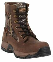 McRae Industrial Men's 7-Inch Lace-Up CT EH Gaucho Leather/Mossy Oak 13 M