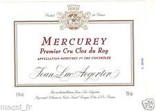 Etiquette de vin - MERCUREY - Premier cru Clos du Roy (129)