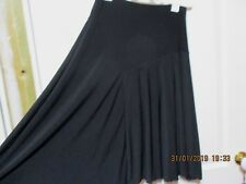 "Ladies Black Skirt flared size 14 waist 26 ""  hip 36"" length is 25"" long"