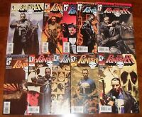 The Punisher Lot MARVEL KNIGHTS Miniseries 1 2 3 4 Garth Ennis Dillon Daredevil