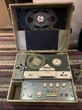 Antique KGM Cinecorder Reel to Reel Tape Recorder/Player circa 1950 - SEE DETAIL
